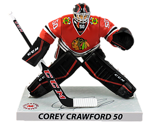 NHL Corey Crawford (Chicago Blackhawks) 2016-2017 Signature Series