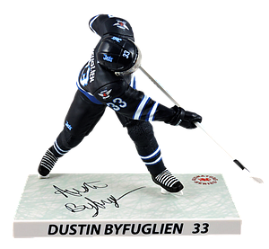NHL Dustin Byfuglien (Winnipeg Jets) 2016-2017 Signature Series