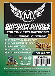 50-pack 88mm x 125mm Size: Tiny Epic Card Sleeves