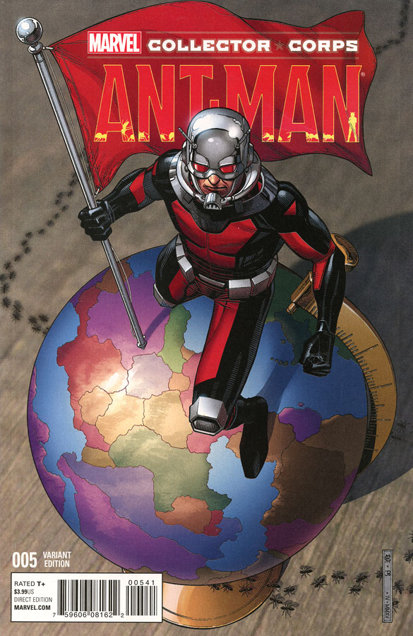 Ant-Man Marvel Collector Corps Comic Book #005