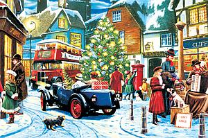 The World's Smallest Jigsaw Puzzle: Christmas Streets