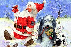 The World's Smallest Jigsaw Puzzle: Santa's Best Friend