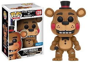Pop! Games Five Nights at Freddy's Vinyl Figure Toy Freddy #128 Walmart Exclusive