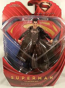 Mattel Man of Steel Movie Masters: Superman (Black Suit)