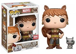 Pop! Marvel Vinyl Bobble-Head Squirrel Girl #144 Marvel Collector Corps Exclusive
