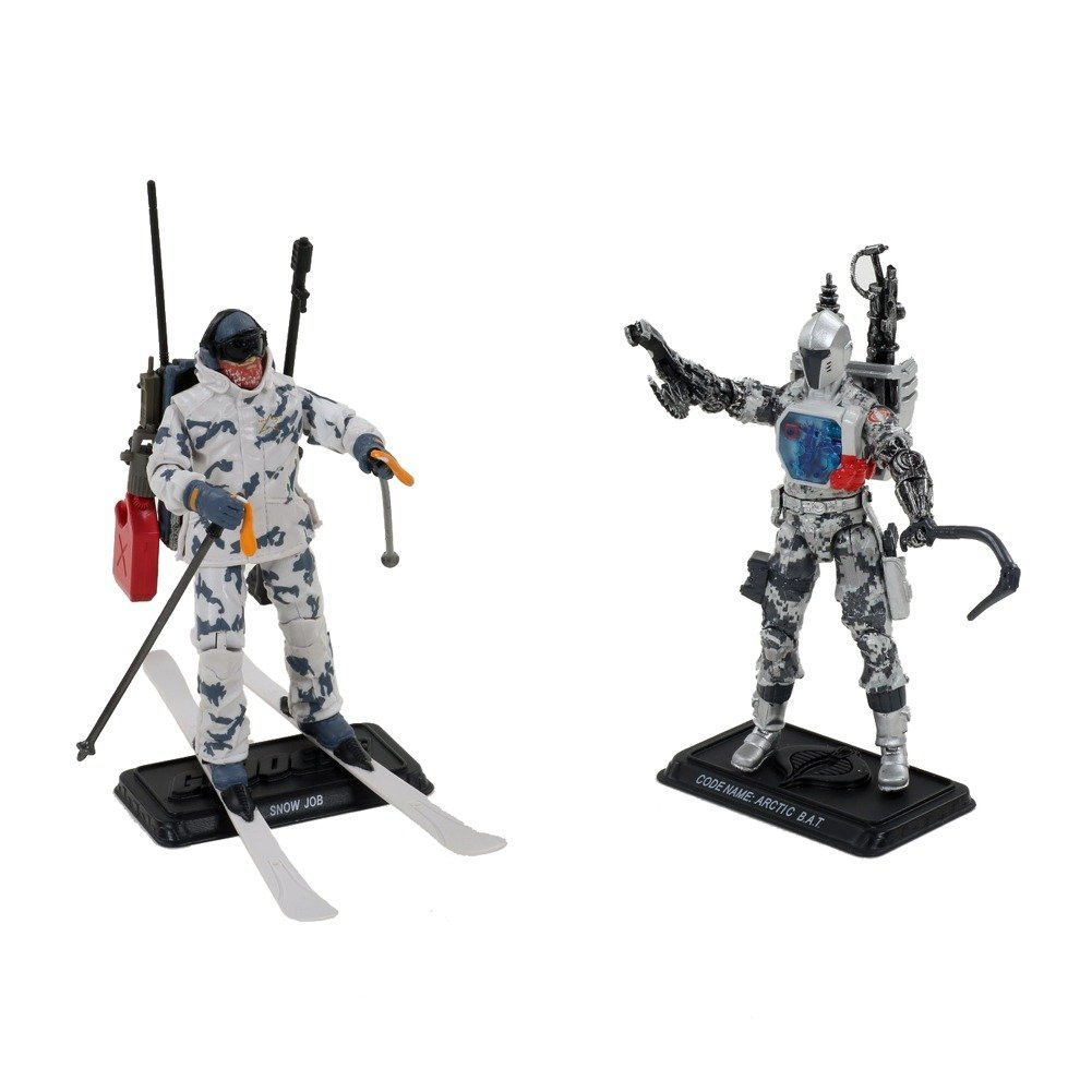 G.I. Joe 50th Anniversary Arctic Ambush 2-Pack (Snow Job vs Arctic B.A.T)