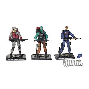 G.I. Joe 50th Anniversary: The Viper's Pit 3-Pack Set
