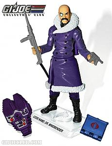 G.I. Joe Master of Mind Control Dr. Mindbender Collector Club Exclusive