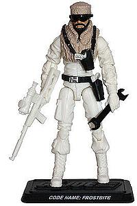 G.I. Joe Arctic Operations Specialist Frostbite Collector Club Exclusive