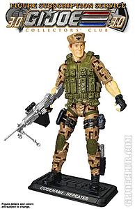 G.I. Joe S.A.W. Machine Repeater Collector Club Exclusive