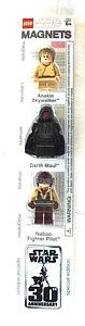 Star Wars Lego Magnets 30th Anniversary Special Edition