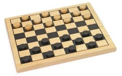 Checkers Set (Wooden)
