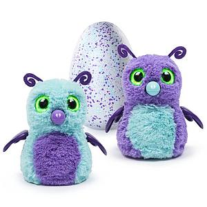 Hatchimals Interactive Creature Burtle Purple/Teal Hatching Egg - Walmart Exclusive