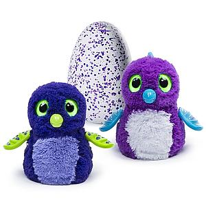 Hatchimals Interactive Creature Draggle Blue/Purple Hatching Egg