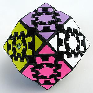 Puzzle Gear Rhombic Dodecahedron