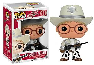 Pop! Holidays A Christmas Story Vinyl Figure Sheriff Ralphie #11 (Retired)