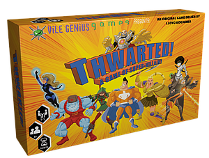 Thwarted! A Game of Super Villainy (Deluxe Edition)
