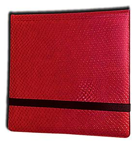 12 Pocket Binder: Red (Dragonhide)