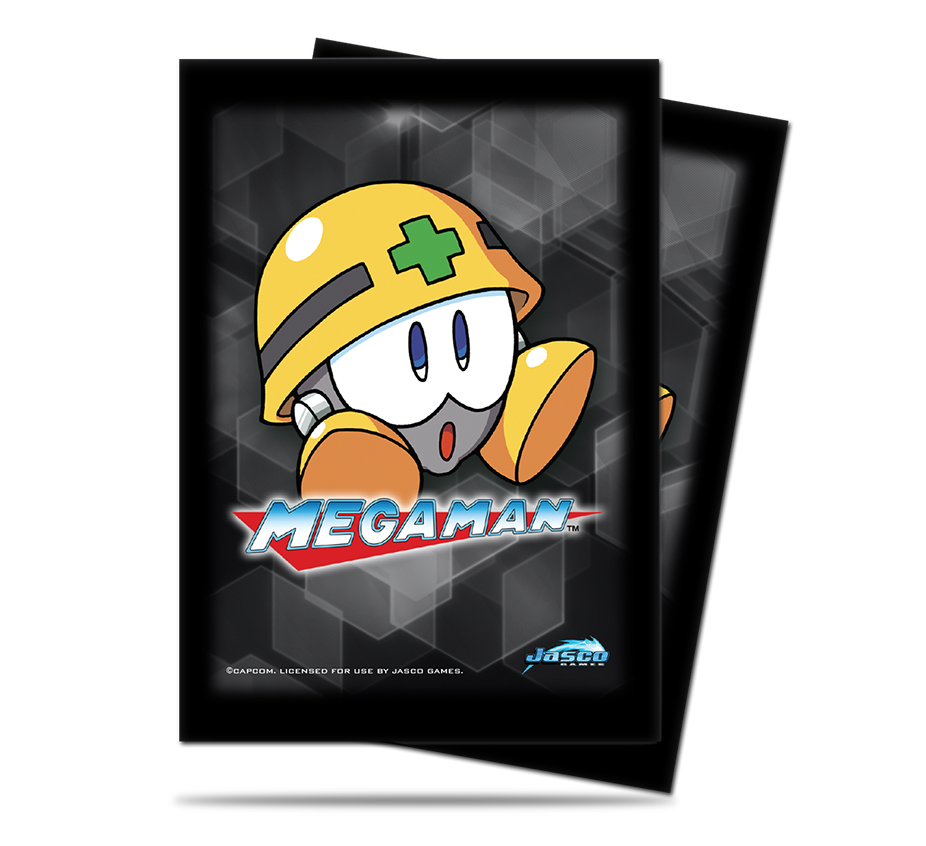 Card Sleeves 50-pack Standard Size: Mega Man - Met