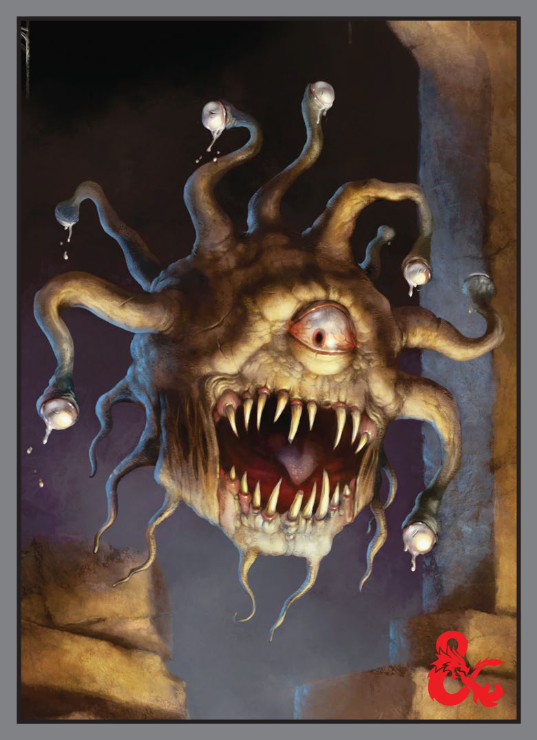 Card Sleeves 50-pack Standard Size: Dungeons & Dragons - Beholder