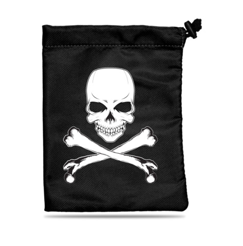 Dice Bag: Treasure Chest Skull & Bones