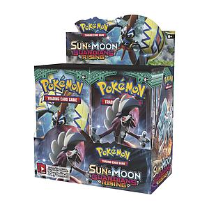 Pokemon Trading Card Game: Sun&Moon (SM2) Guardians Rising Booster Box