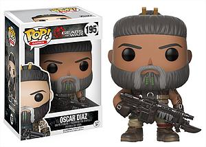 Pop! Games Gears of War Vinyl Figure Oscar Diaz #195