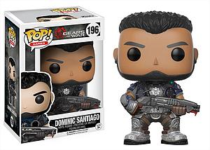 Pop! Games Gears of War Vinyl Figure Dominic Santiago #196