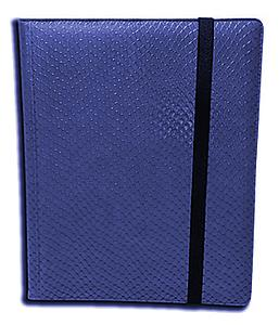 9 Pocket Side Loading Binder: Blue (Dragonhide)