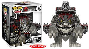 Pop! Games Gears of War Vinyl Figure Brumak #199