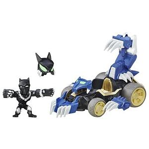 Marvel Super Hero Mashers Micro Shadow Claw Vehicle & Black Panther Figure
