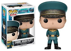 Pop! Movies Valerian and the City of a Thousand Planets Vinyl Figure Commander Arun Filitt #440