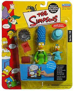 The Simpsons World of Springfield Interactive Figure Sunday Best Marge & Maggie