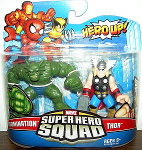 "Marvel Super Hero Squad 2"" 2-Pack: Abomination & Thor"