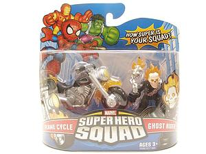 "Marvel Super Hero Squad 2"" 2-Pack: Flame Cycle & Ghost Rider"