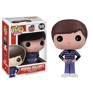 Pop! Television The Big Bang Theory Vinyl Figure Howard Wolowitz #59 (Retired)
