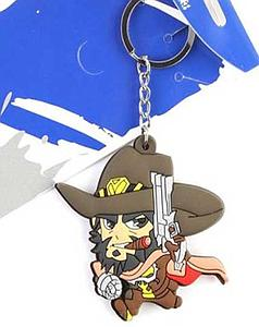 Overwatch Keychain McCree (Rubber)
