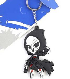 Overwatch Keychain Reaper (Rubber)