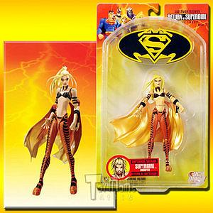 "DC Direct Superman/Batman: Return of Supergirl Superman/Batman 6"" Series 2 Corrupted Supergirl"