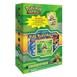 Pokemon Trading Card Game: Chespin Figure Box