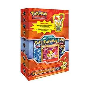 Pokemon Trading Card Game: Fennekin Figure Box