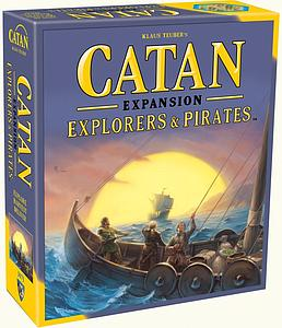 Catan: Explorers & Pirates Expansion (Fifth Edition) [Re-Packaged]