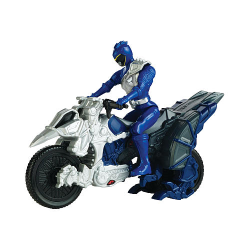 Bandai Power Rangers Dino Super Charge Dino Cycle & Blue Ranger