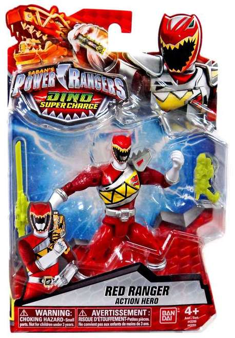 Bandai Power Rangers Dino Super Charge Red Ranger Action Hero