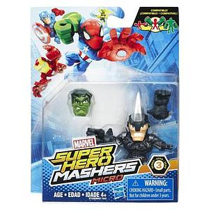 Marvel Super Hero Mashers Micro Series 3 Marvel's Rhino Figure