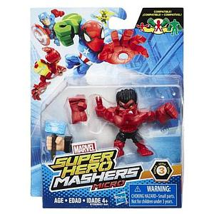 Marvel Super Hero Mashers Micro Series 3 Red Hulk Figure