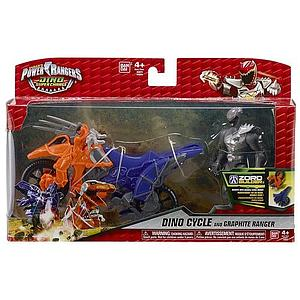 Power Rangers Dino Super Charge Dino Cycle & Graphite Ranger