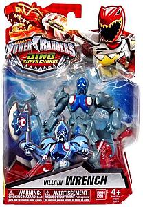 Bandai Power Rangers Dino Super Charge Villain Wrench Action Figure