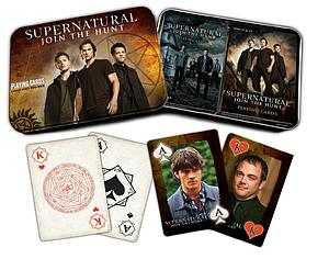 Playing Cards: Supernatural 2-Pack Tin