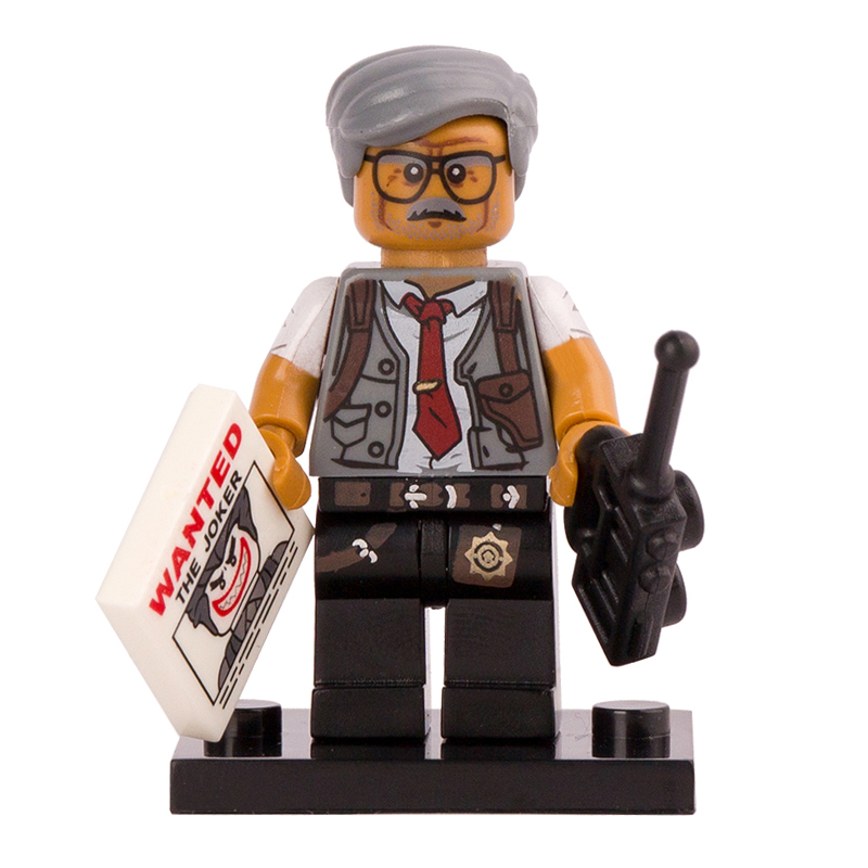 DC Comics SuperHeroes Minifigure: Commissioner Gordon (Lego Batman Movie)